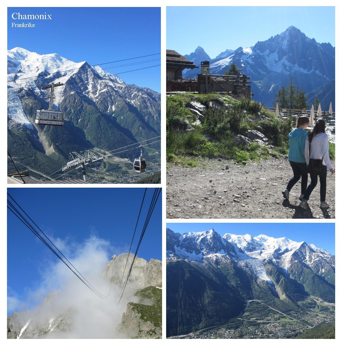 Chamonix som stop-over på sommerens bilferie