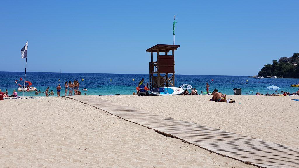 Badestrand på Magaluf Mallorca
