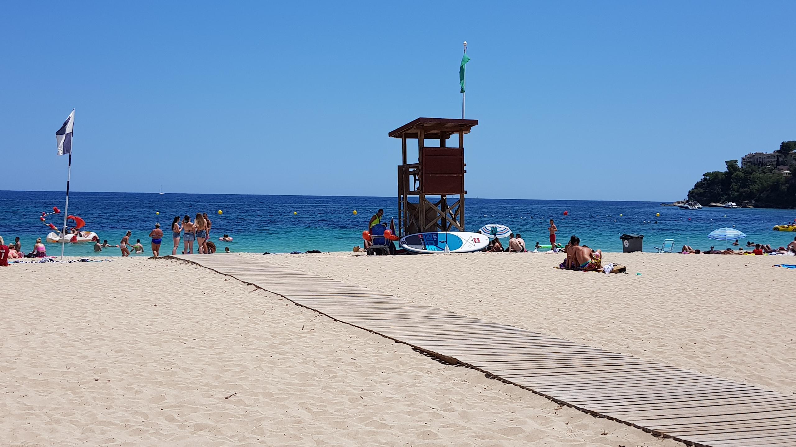 Stranden på Magaluf