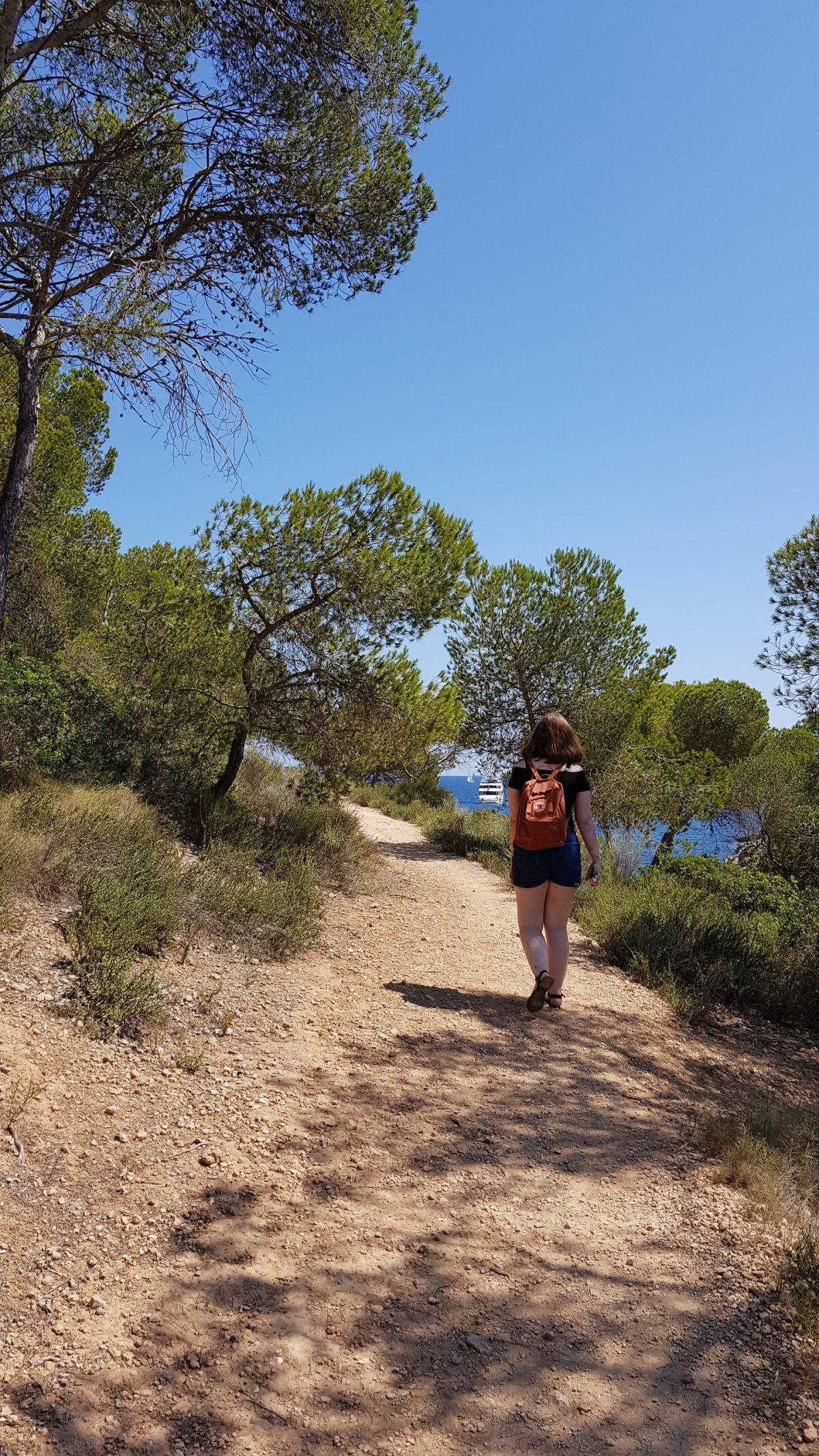 Turstier ved Cala Falco Mallorca