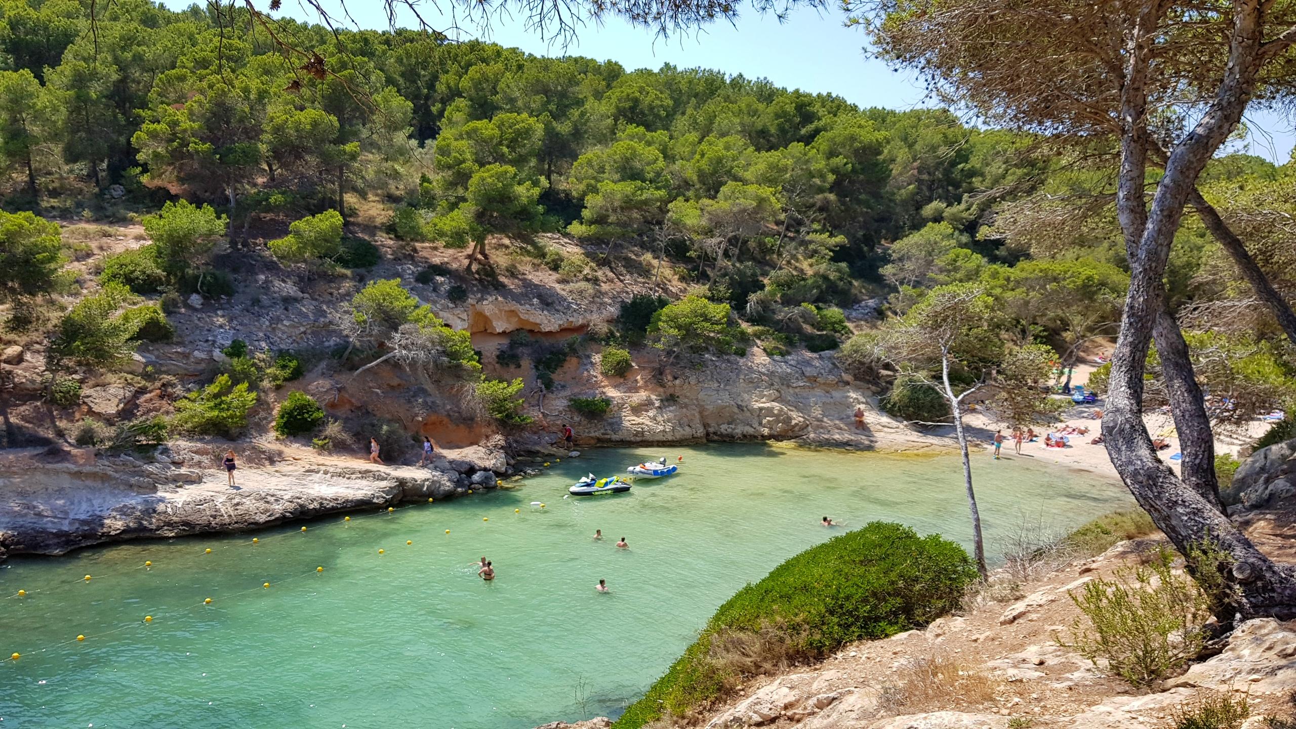 Badebukten Cala Faclo på Mallorca
