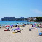 Peguera på Mallorca - stranden
