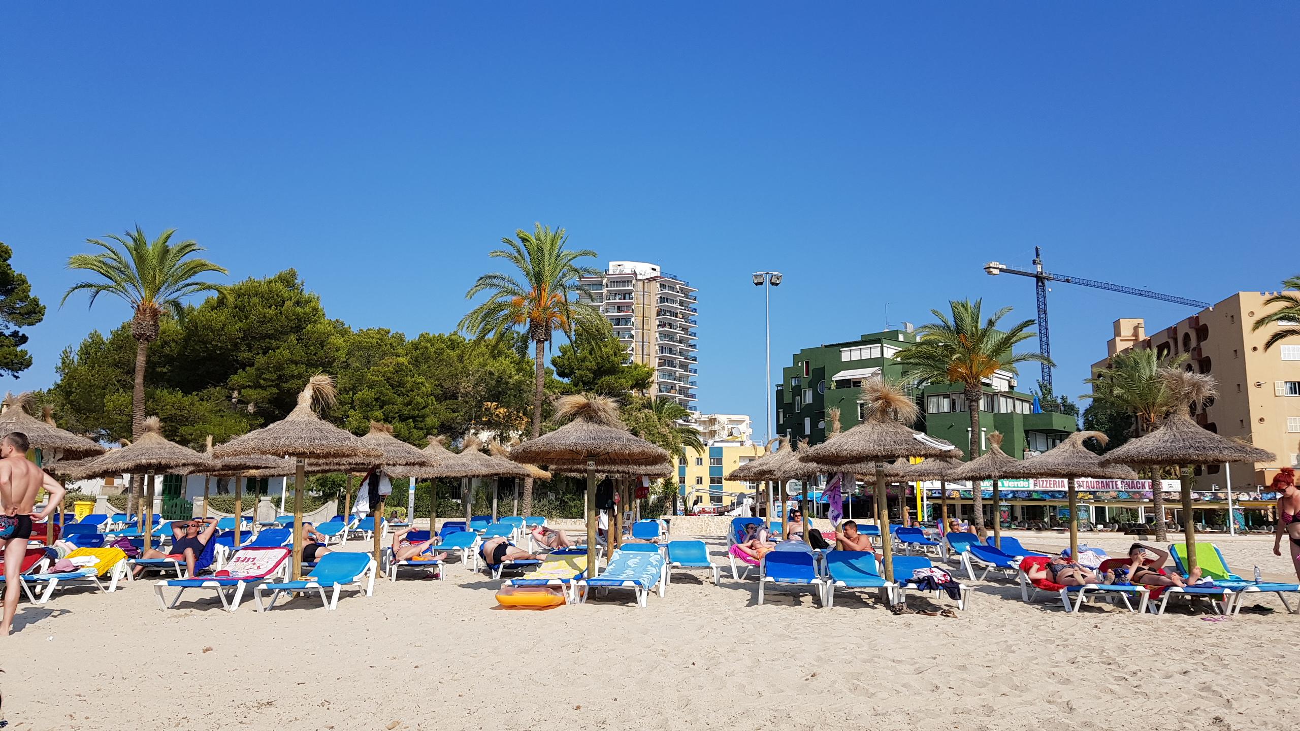 Magaluf stranden