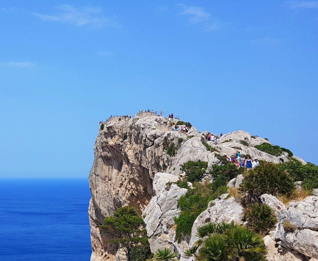 Cap Formentor på biltur på Mallorca