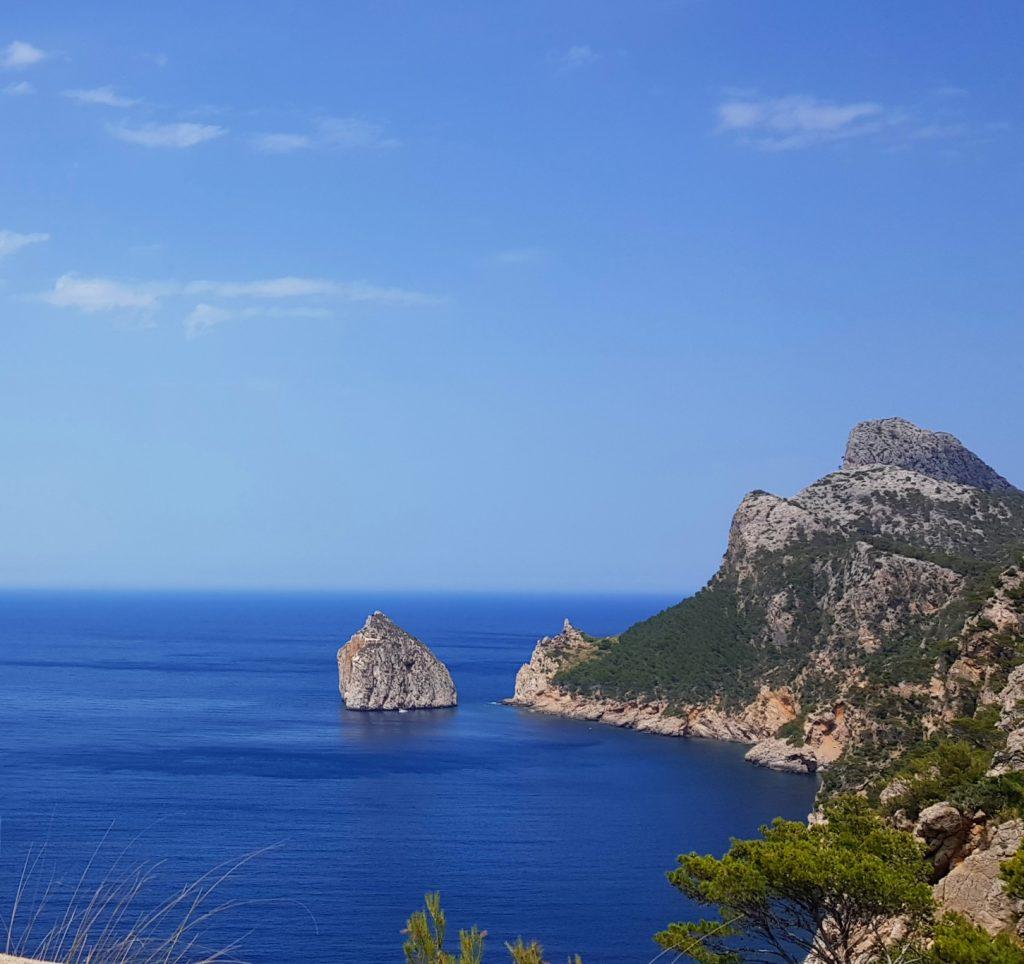 På vei mot Cap Formentor, Mallorca