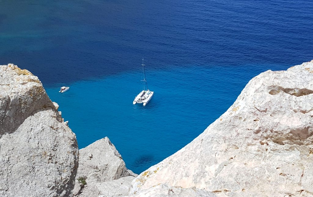Cala Figuera på vei mot Cap Formentor med bil