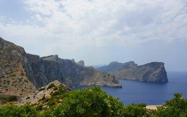 Vakker utsikt på Mallorcas nordspiss – Cap de Formentor