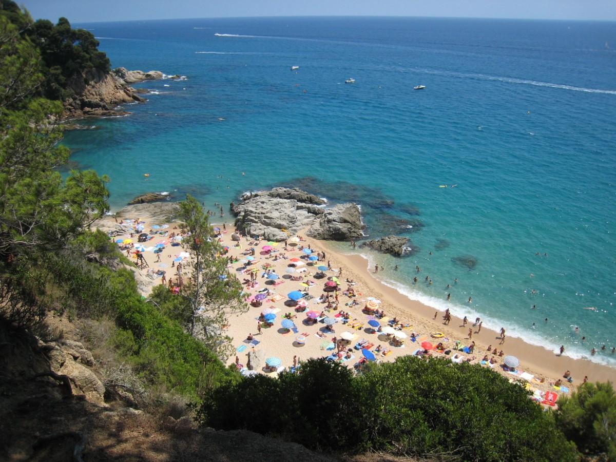 Boadella stranden - Costa Brava Spania