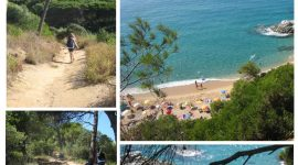 Vakre badeviker på Costa Brava