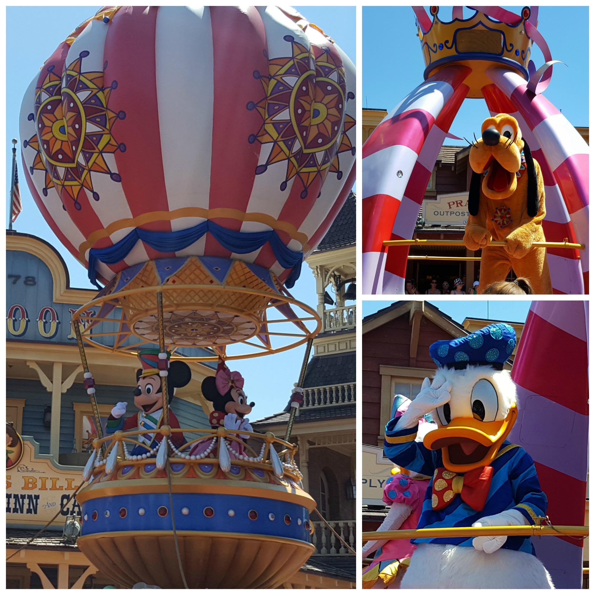 Paraden i Disneyland Orlando