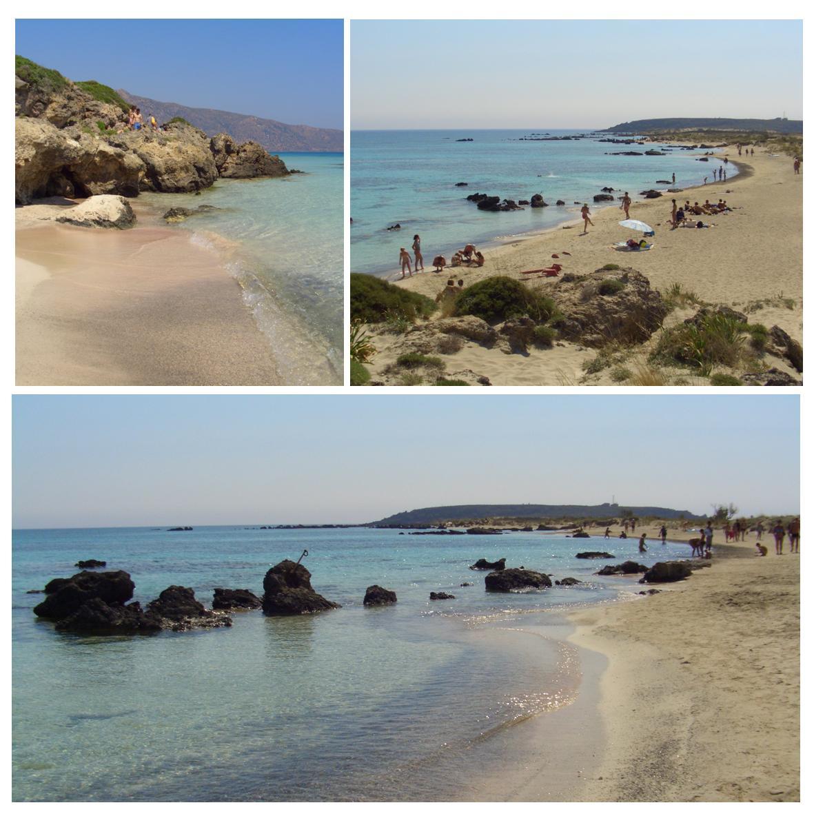 Kretas beste strand - Elafonissi