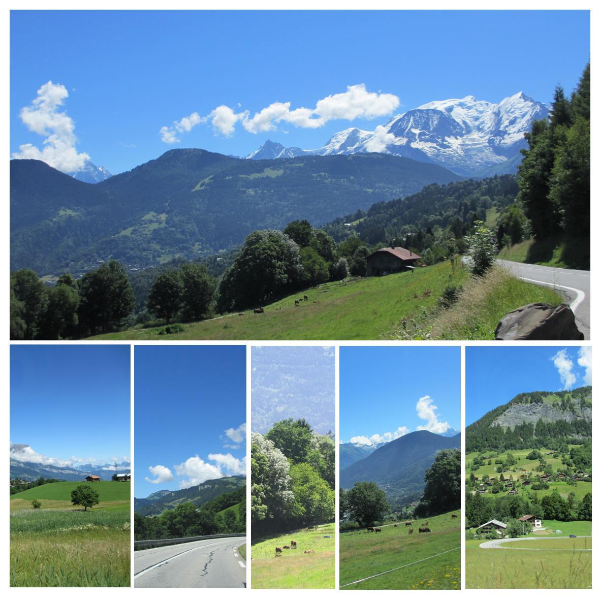 Bilferie franske alper - mont blanc