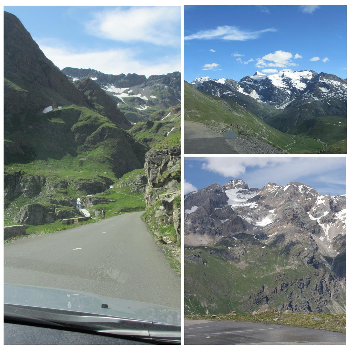 Franske fjelloverganger med bil