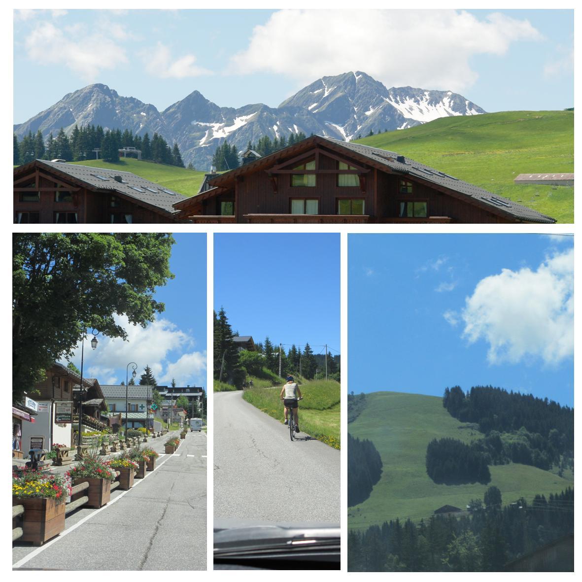 Alpelandskap - bilferie i franske alper