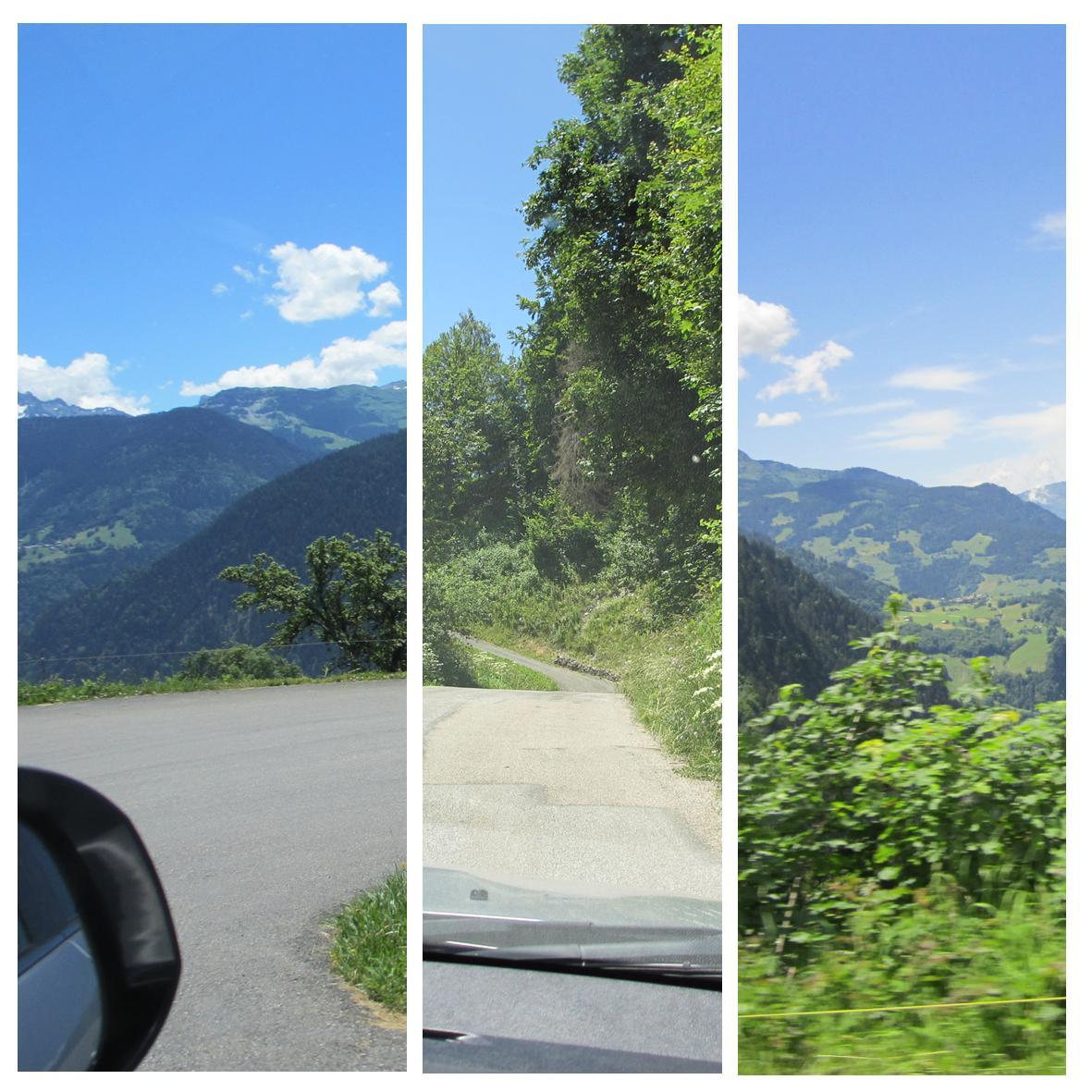 Smale veier på bilferie i de franske alpene