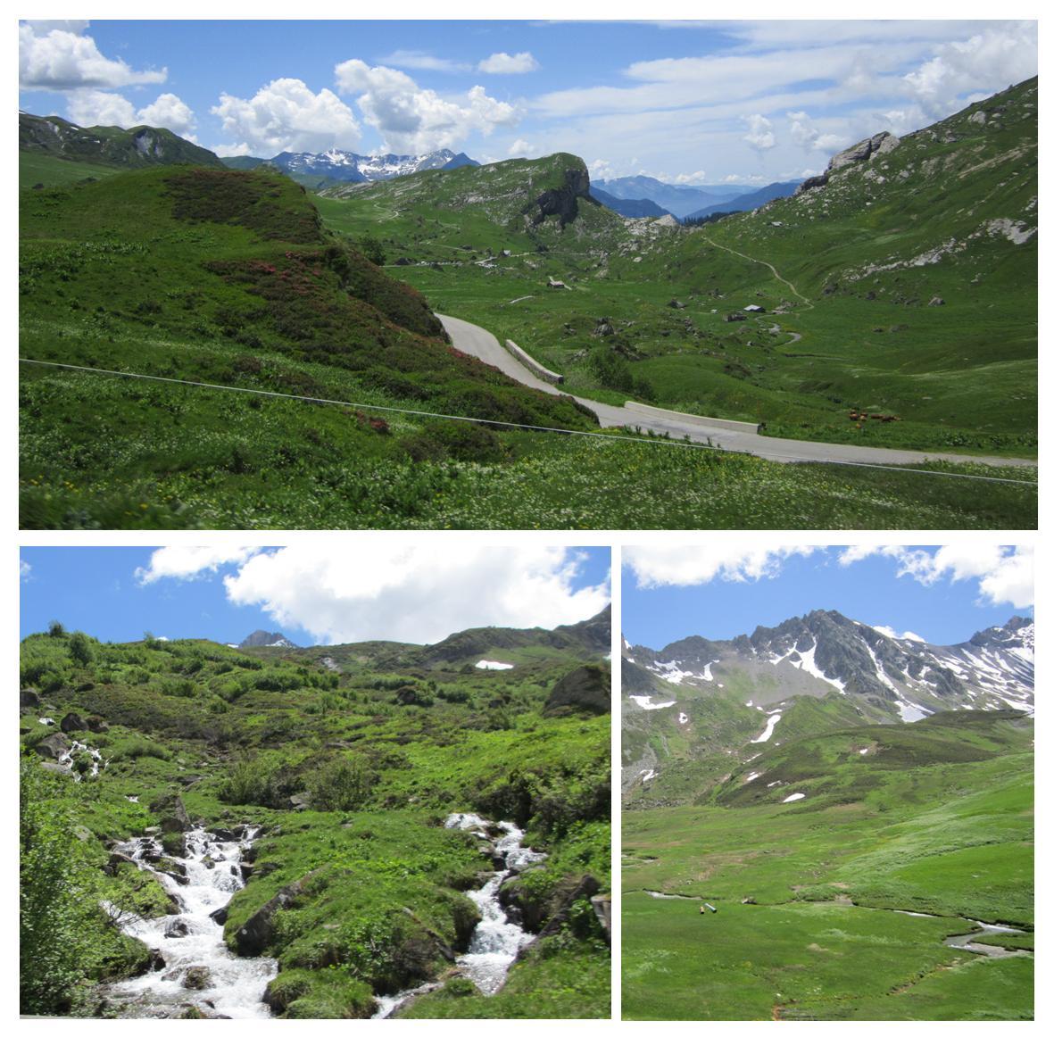 Høye fjelloverganger i de franske alper