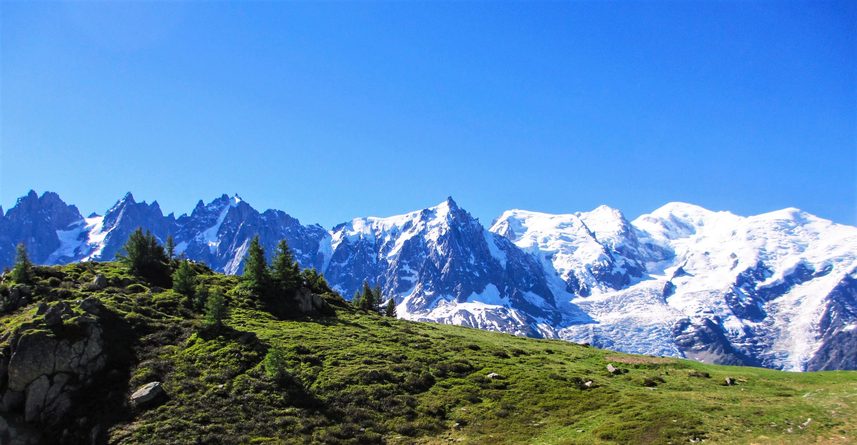 Chamonix om sommeren