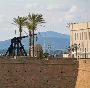 Bymuren går rundt Alghero