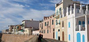 Gamlebyen i Alghero Sardinia