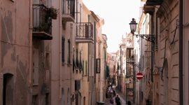 Vakkert og idyllisk i Alghero på Sardinia