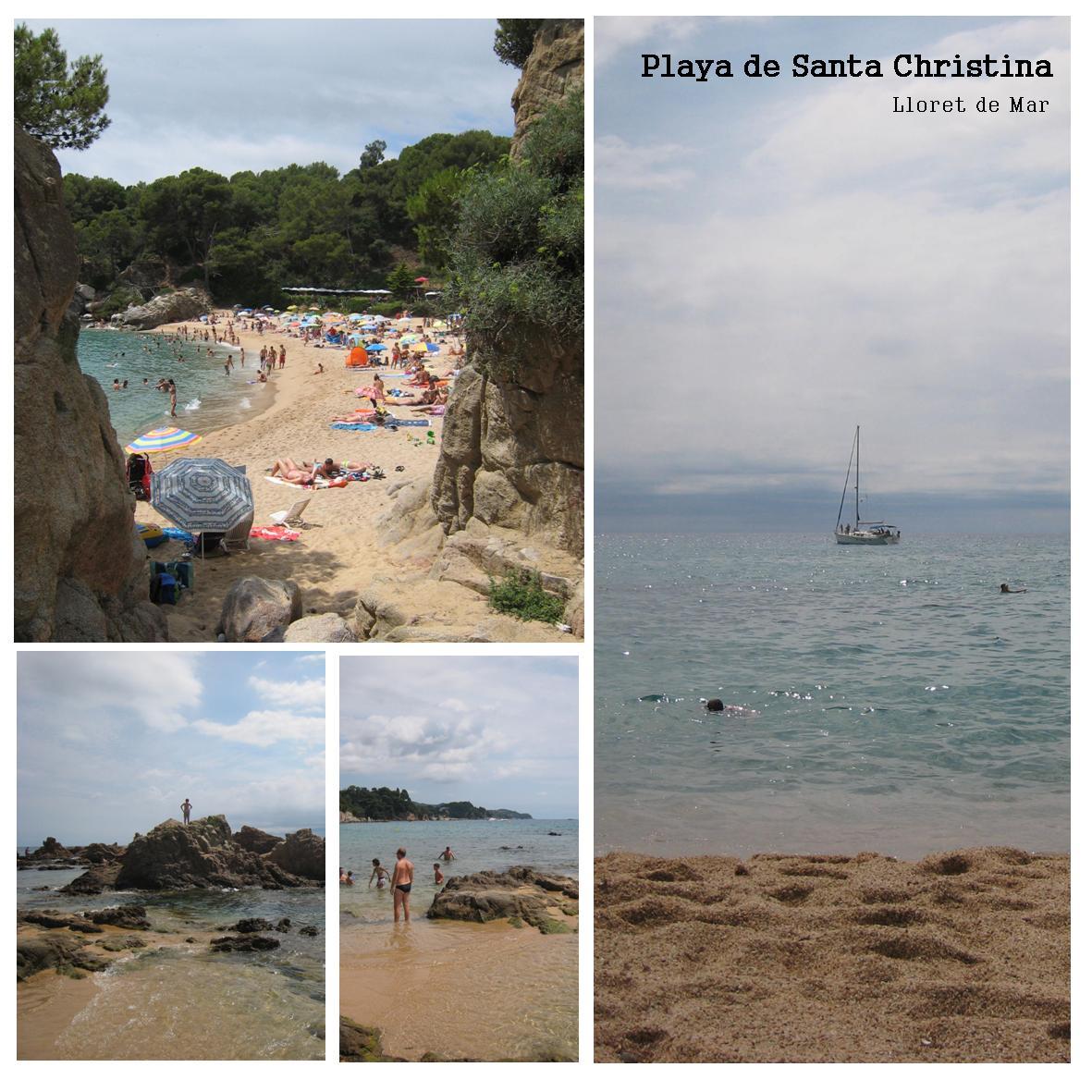 Santa Christina stranden - Costa Brava