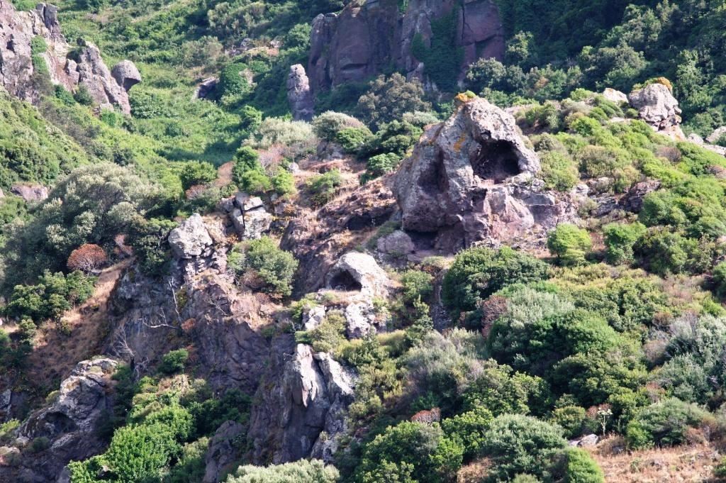 Fjellformasjoner på Sardinia - Fantomets hule