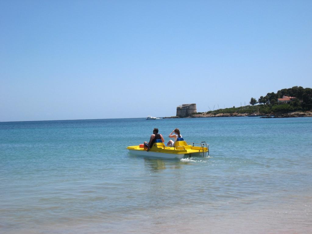 På stranden Alghero