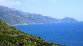 Spektakulær kystlinje på Sardinia