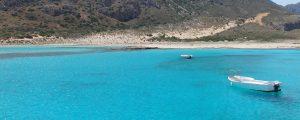 Balos lagunen på Hellas er en av den beste strendene på Kreta