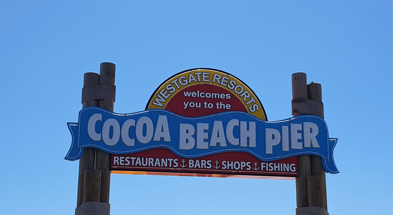 Cocoa Beach på Bilferie i Florida
