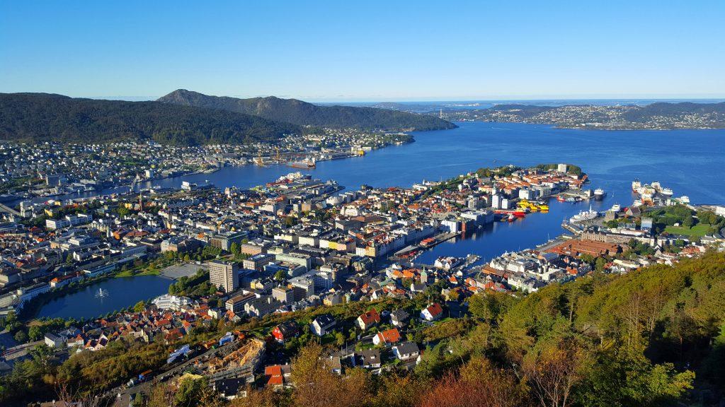 Bergen - bilferie