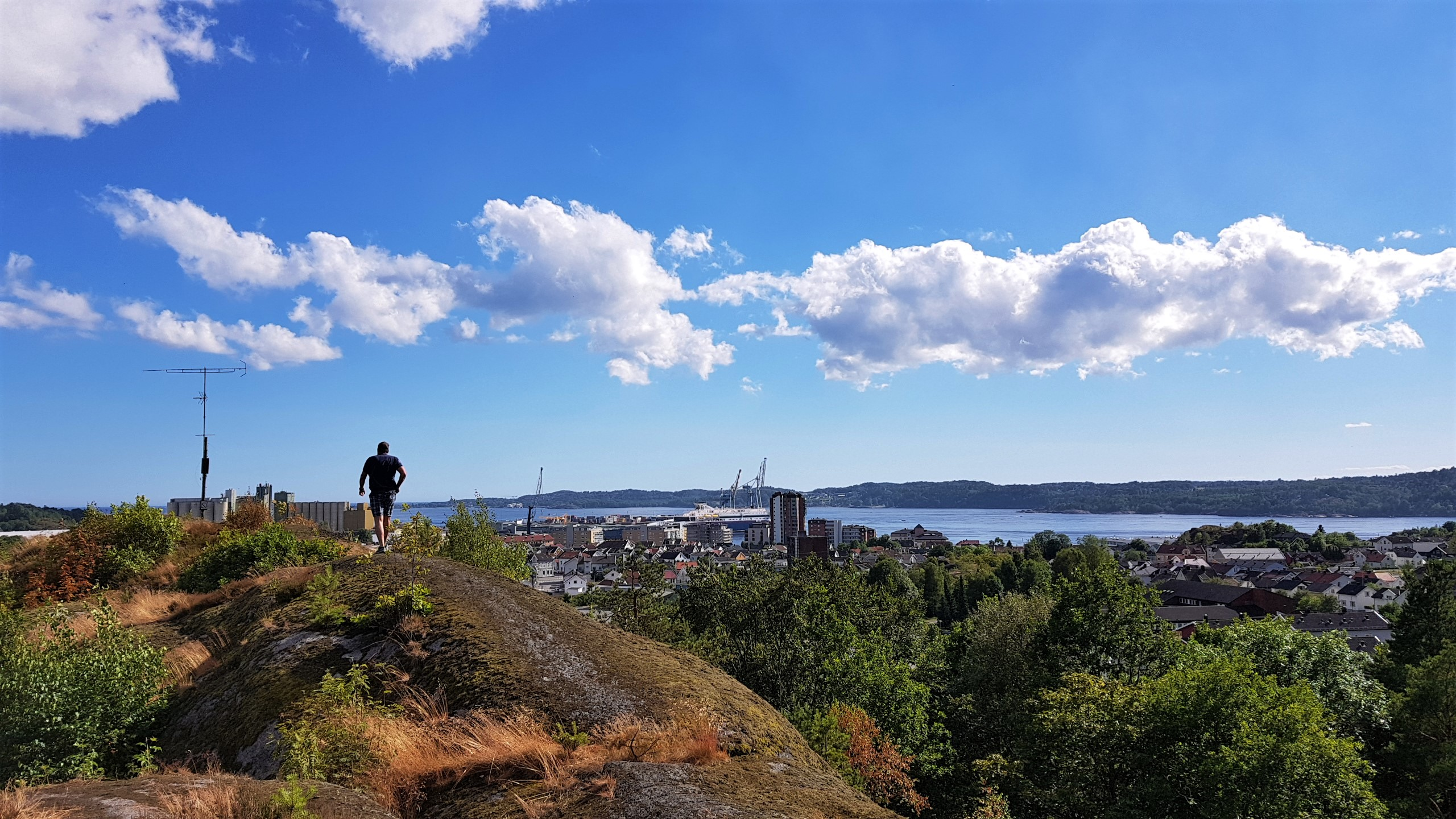 Bystien i Larvik