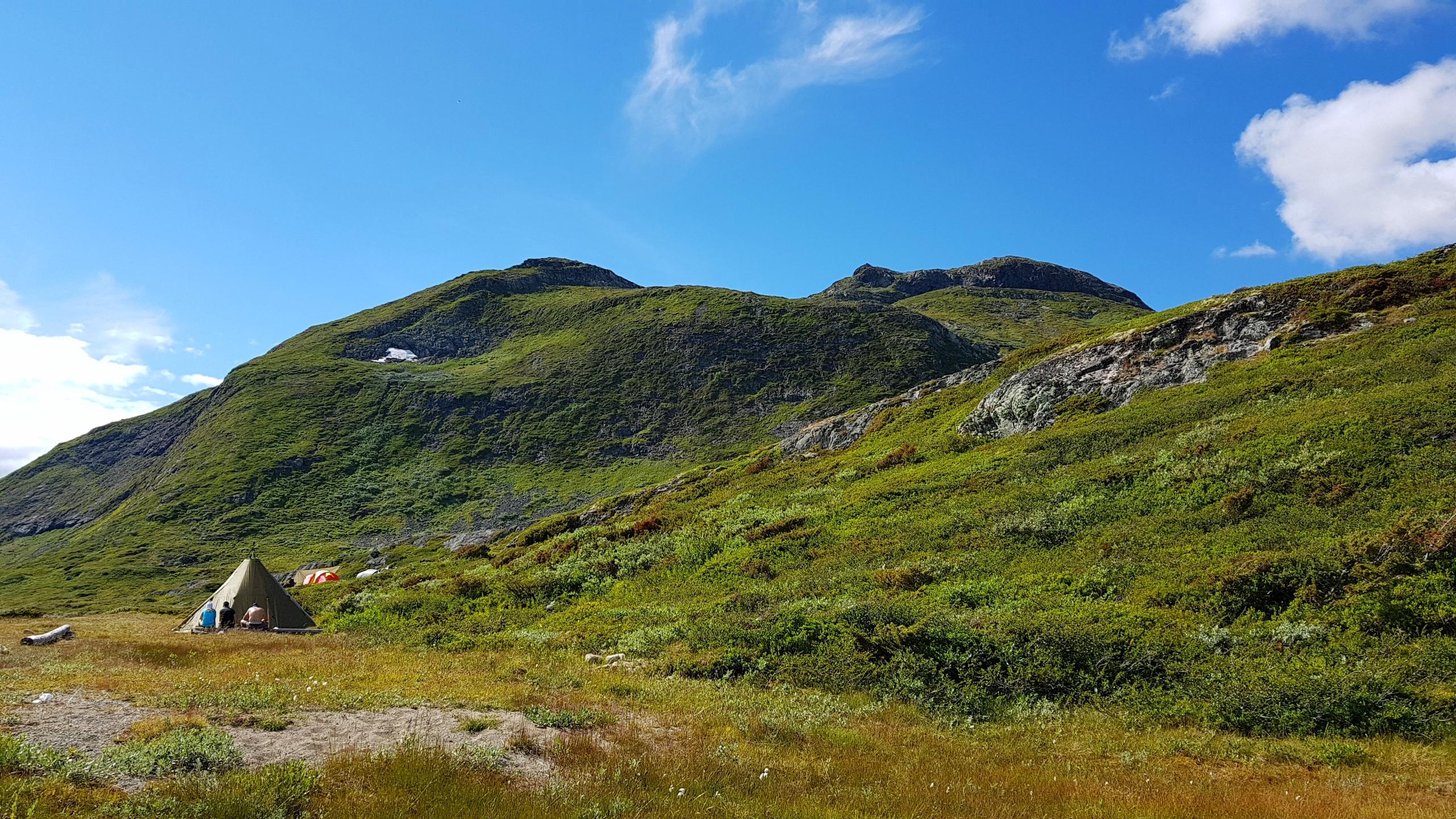 Telting i naturen - reiseblogg