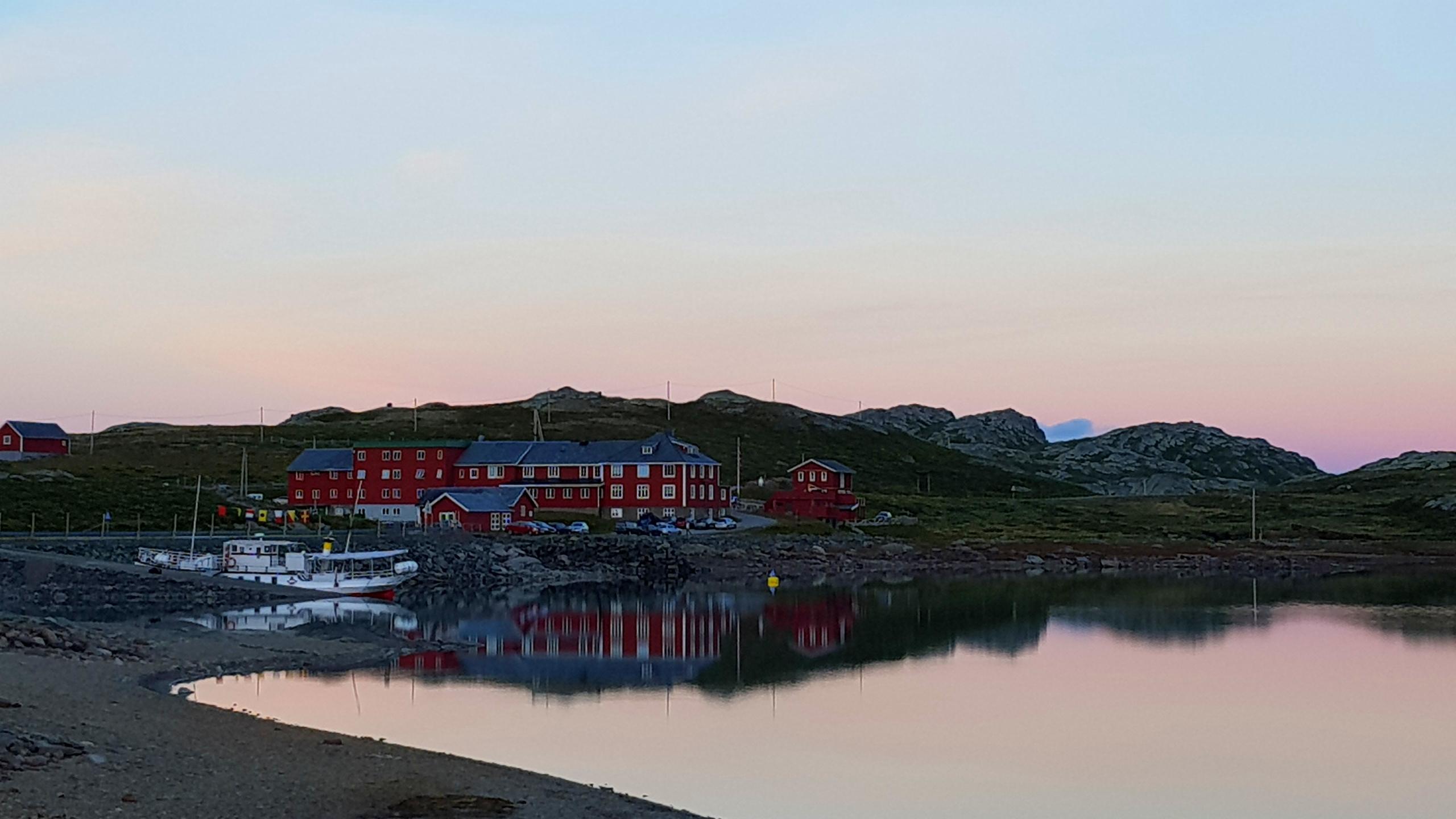 Solnedgang Bygdin Fjellhotell