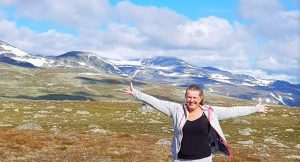 Anne Bente Hauge - reiseblogger Valdresflya