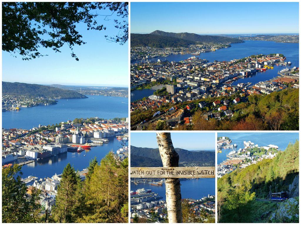 Fløyen i Bergen - stopp på bilferien