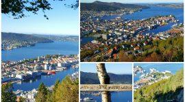 Høsttur over fjellene til Bergen