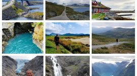 Bilferie i Norge med Atlanterhavsveien