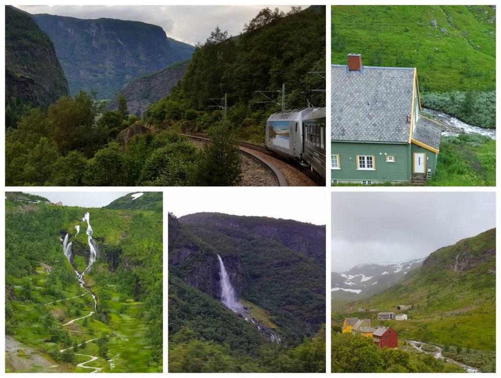 Flåmsbanen er et must på bilferie i Norge