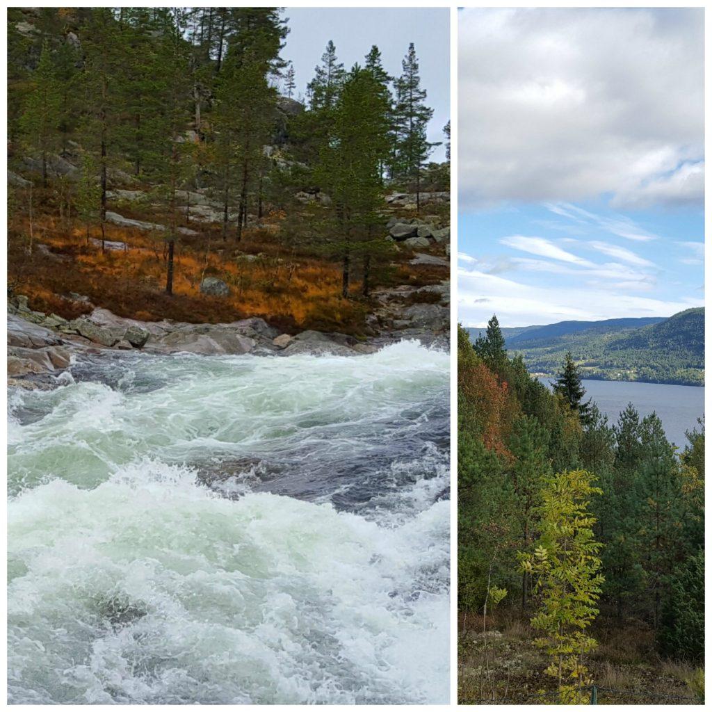 Bilferie gjennom Telemark - høsten