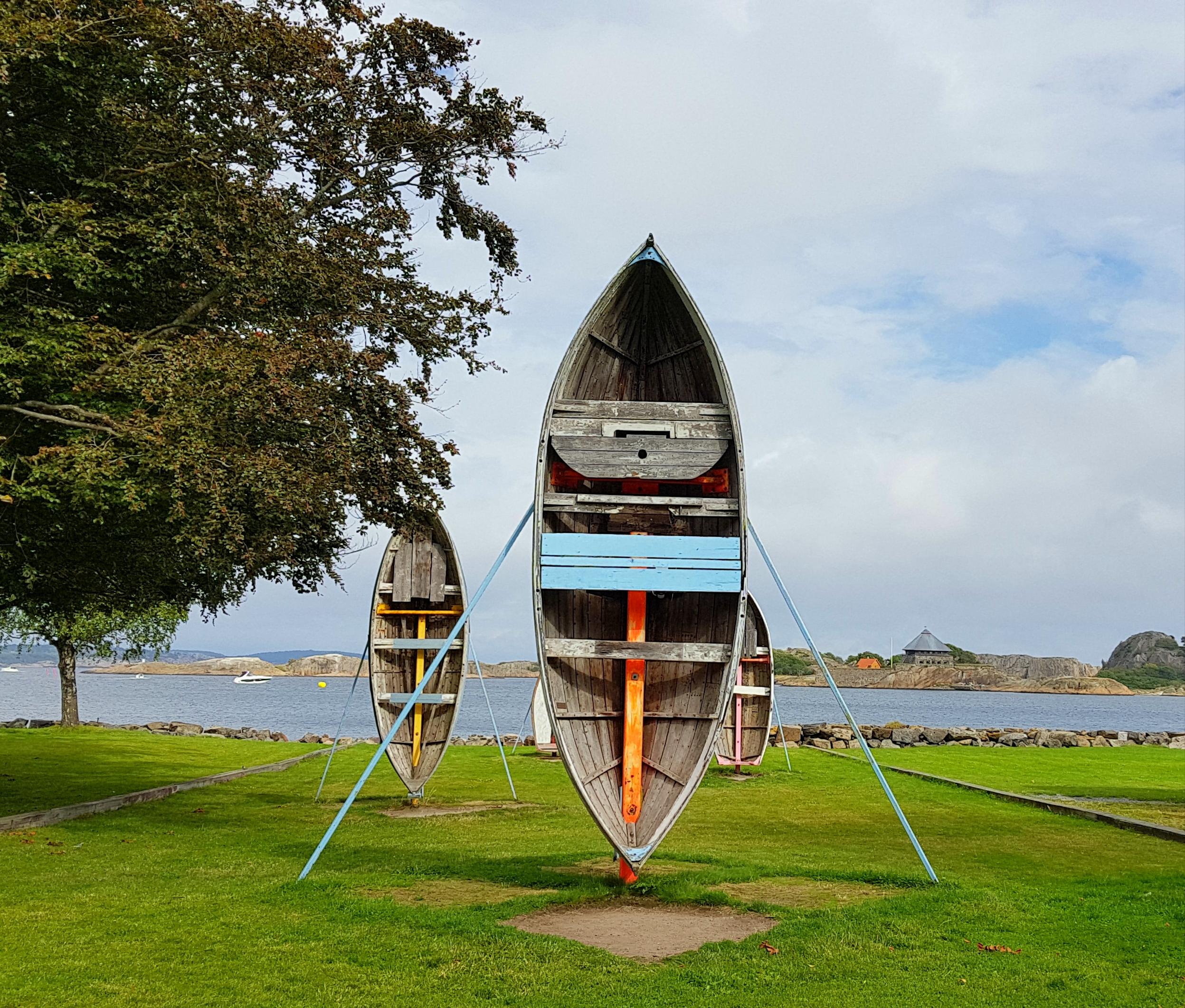 Fredriksvern kunst båter