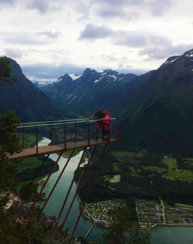 Rampestreken Utsikt Romsdalen