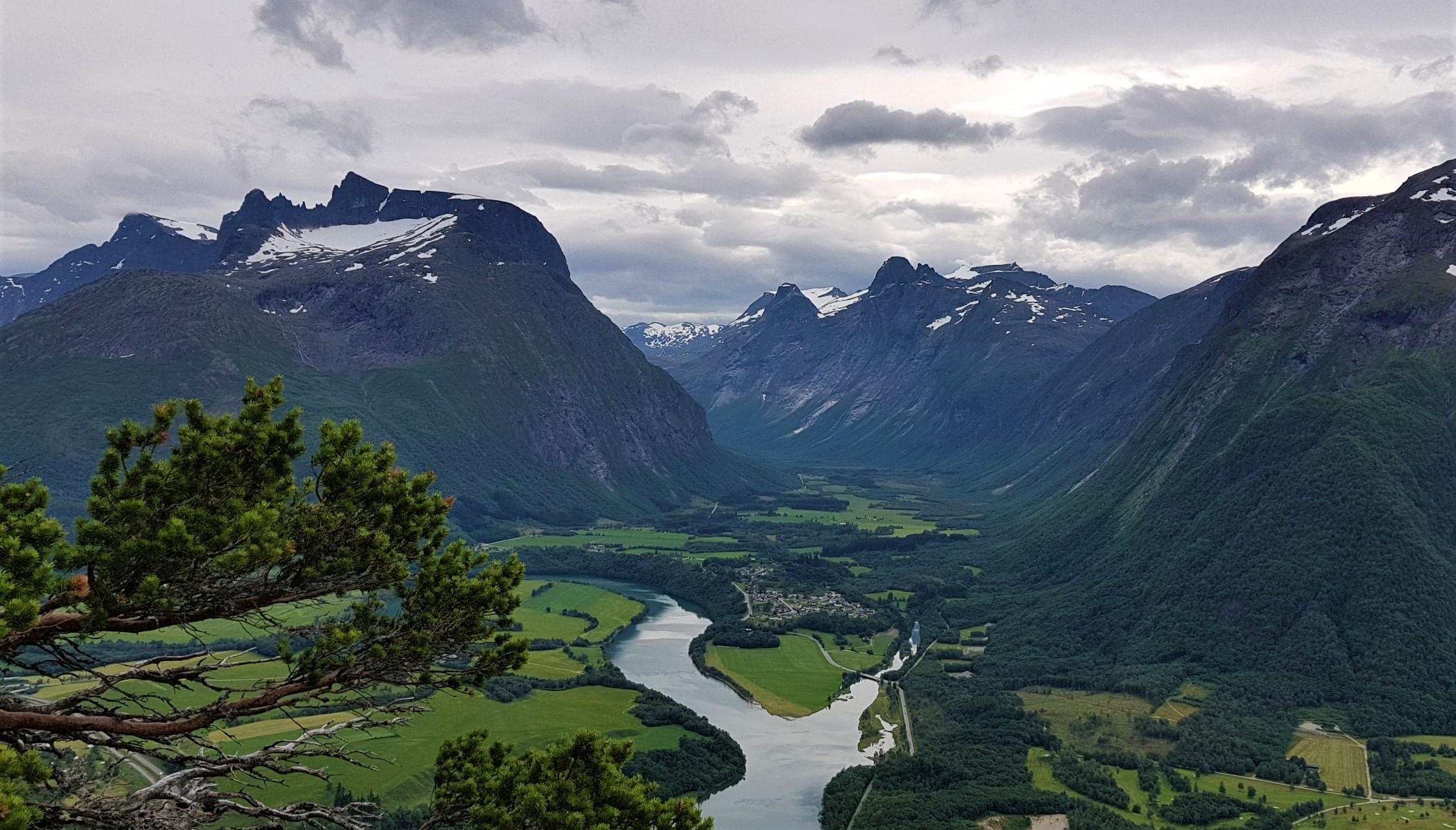 Utsikt Rampestreken Romsdal