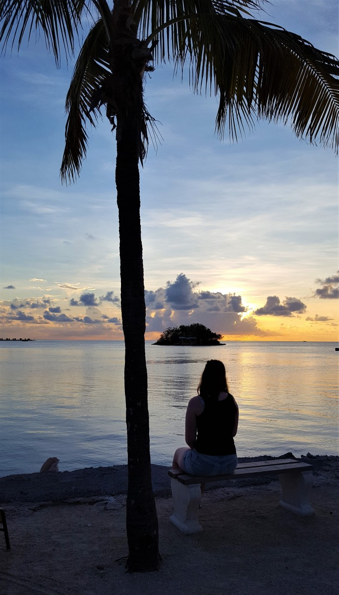 Solnedgang Florida Keys