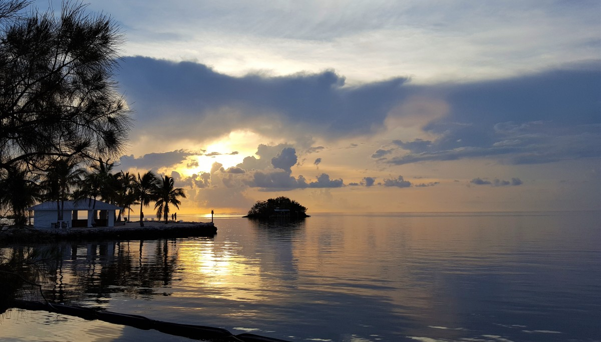 Florida Keys solnedgang