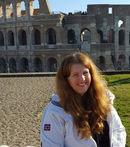 Anne Bente - reiseblogger i Roma