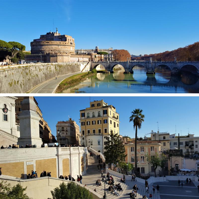 Roma i desember - severdigheter