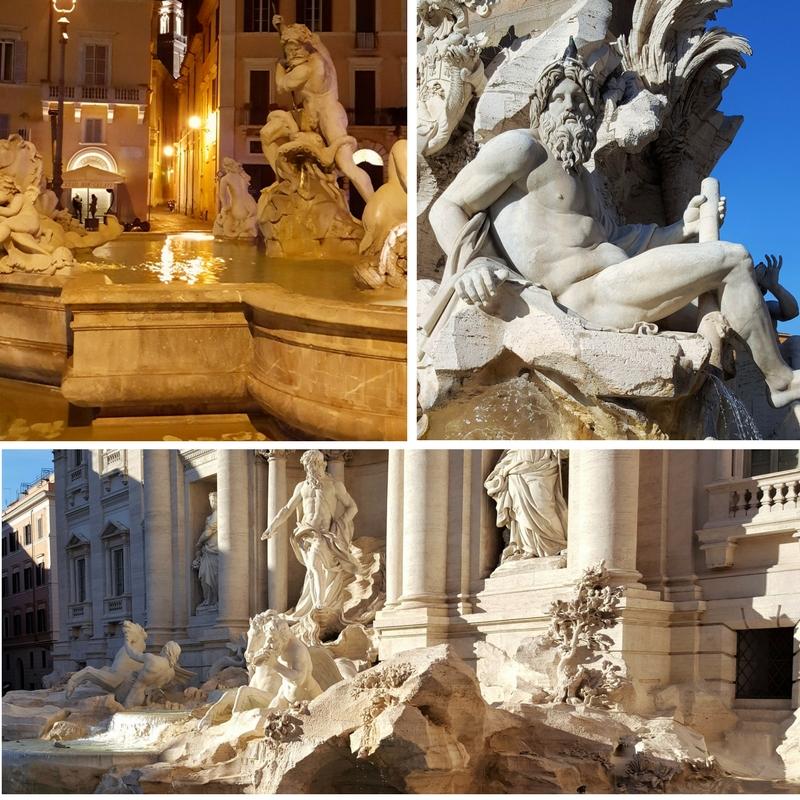 Førjulstur til Roma - fontener
