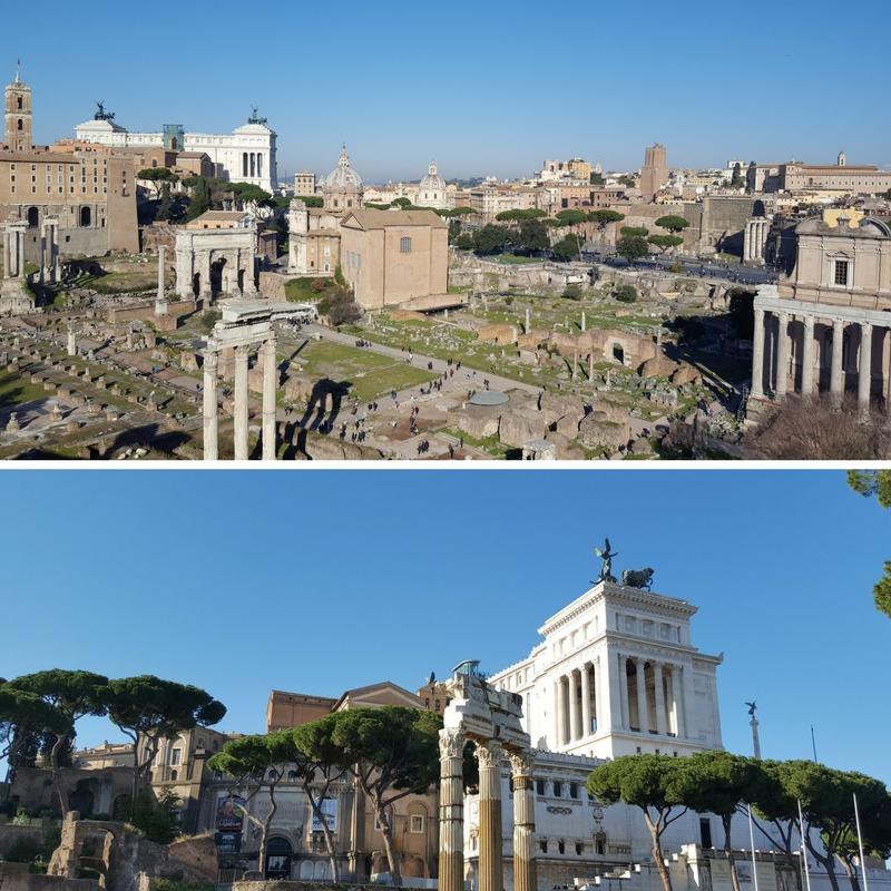 Roma i desember - forum Romanum