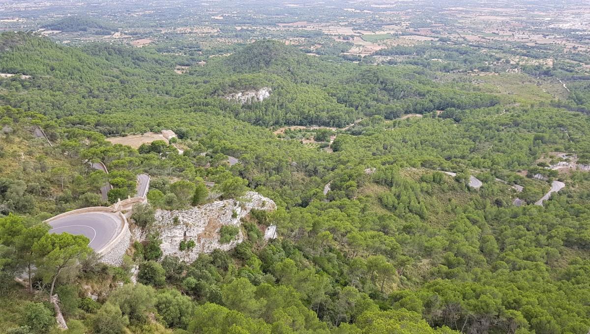 San Salvator Monastery på Mallorca